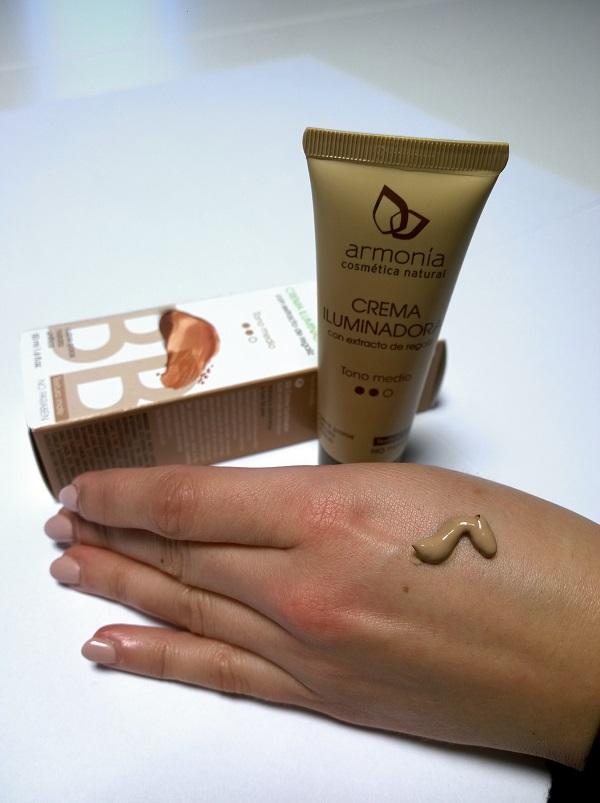 armonia cosmetica natural crema iluminadora