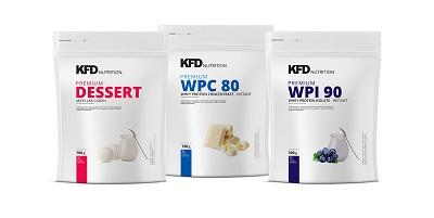 odżywki białkowe firmy kfd nutrition