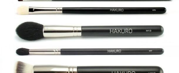 Zestaw pędzli Hakuro – stwórz idealny makijaż