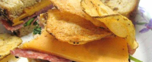 Domowe chipsy z warzyw